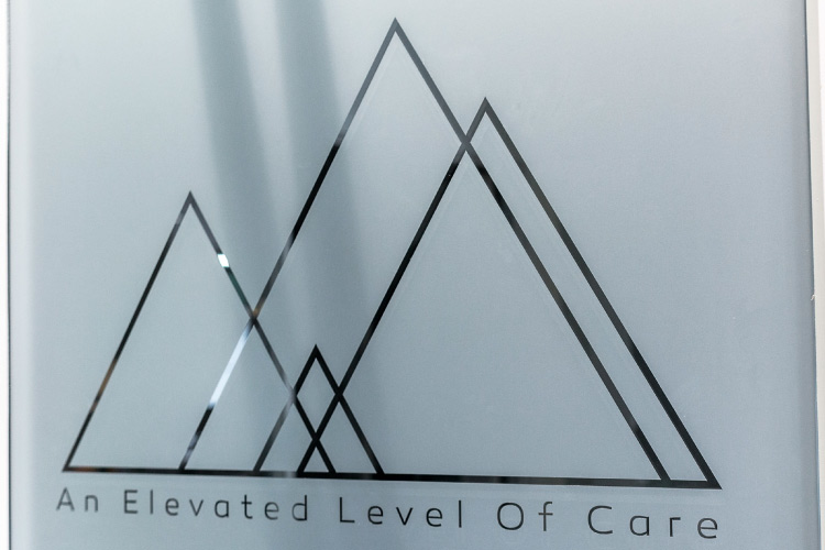 Spanaway door logo says An Elevated Level Of Care which applies in the treatment of sleep apnea